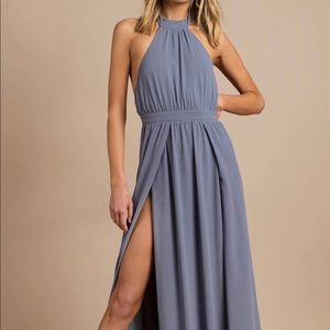 Tara Slate Halted Dress